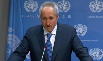 اقوام متحدہ کاادلب میں فوری طور پر کشیدگی کے خاتمے پر زور