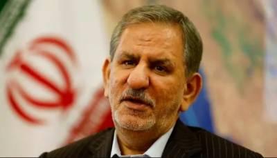 پابندیوں نے ایران کا گلا گھونٹ دیا ایک ڈالرمنتقل کرنا بھی مشکل:ایرانی نائب صدر