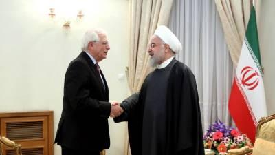 جوہری سمجھوتہ برقرار رکھنے کیلئے یورپی یونین کے ساتھ کام کرنے کو تیار ہیں، ایران
