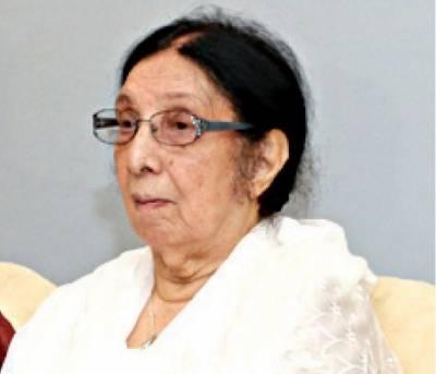 اردو کی معروف ناول نگار نثار عزیز بٹ انتقال کرگئیں