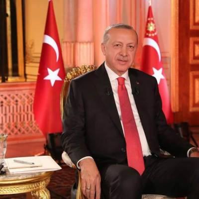 ترک صدر اسلامی دنیا کی مقبول ترین شخصیت بن گئے