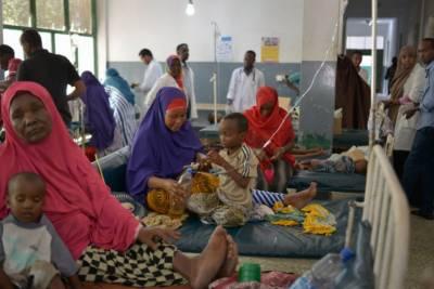 صومالیہ میں اسہال سے کی وباءسے 5 بچے جاں بحق