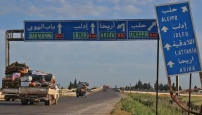 حلب : بشار کی فوج اور ترکی کی فورسز کے درمیان گولہ باری کا تبادلہ