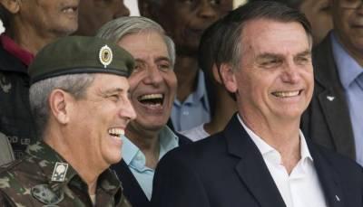 برازیل:صدر نے آرمی جنرل والٹر سوزا براگا نیٹو کو نیا چیف آف سٹاف تعینات کر دیا