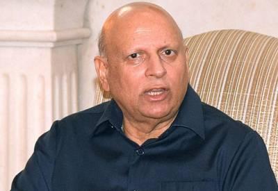 وزیراعظم کی ایمانداری پرکوئی بھی انگلی نہیں اٹھاسکتا:گورنر پنجاب