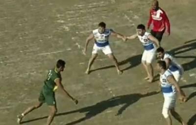 کبڈی عالمی کپ،پاکستان نے آذربائیجان کو 30- 40سے ہرا دیا