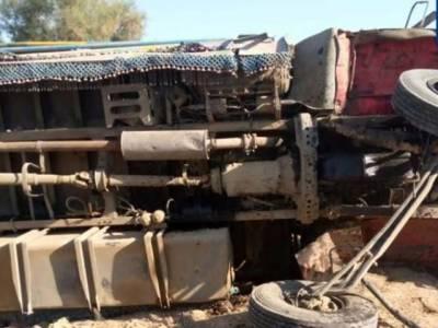 جھل مگسی میں باراتیوں کی بس کو حادثہ، 12 افراد جاں بحق، 20 زخمی