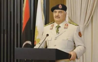 ایردوآن کے اجرتی قاتلوں کو نکالنے اور طرابلس کی آزادی تک جنگ بندی نہیں ہوگی: جنرل خلیفہ حفتر
