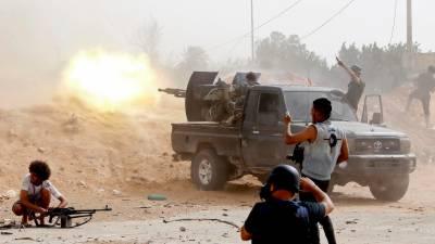 لیبیا، اقوام متحدہ کی جنگ بندی کے باوجود جھڑپیں