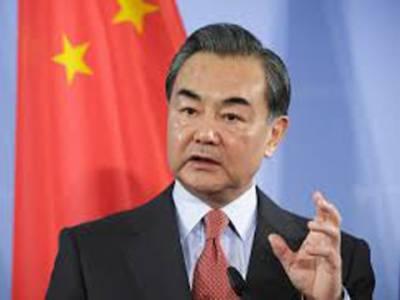 چینی وزیر خارجہ نے چین پر امریکی تنقید کو جھوٹ قرار دیتے ہوئے مسترد کردیا