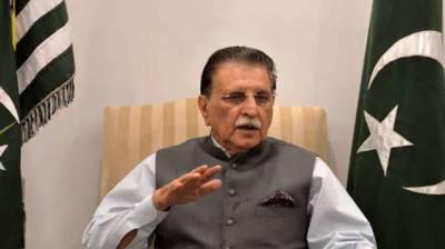 بی جے پی کی حکومت آبادی کے تناسب کو تبدیل کرنے کیلئے مقبوضہ کشمیر میں ہندو بستیاں قائم کرنے کے منصوبے پر عمل پیرا ہے۔راجہ فاروق حیدر