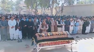 پی پی رکن سندھ اسمبلی شہناز انصاری کی نمازہ جنازہ ادا