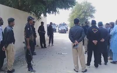 کندھ کوٹ: پولیس مقابلہ ، ایس ایچ او اور اہلکار زخمی