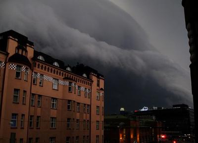 فن لینڈ میں طوفان، 12ہزارگھروں میں بجلی کی سپلائی میں تخفیف