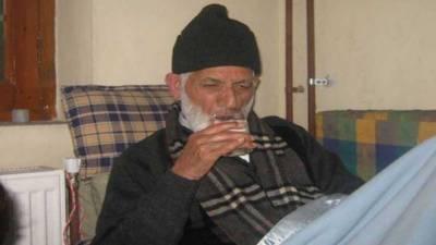 حریت لیڈر سید علی گیلانی کی حالت مستحکم اور بہتر