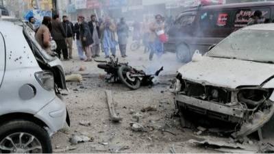 کوئٹہ :عدالت روڈ پر بم دھماکہ, 7افراد جاں بحق , 22افراد زخمی