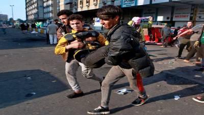 عراق میں مظاہرین پر تشدد کرنے والوںکو کٹہرے میں لایا جائے:برطانوی سفیر
