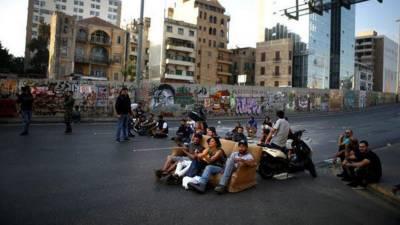 سماجی کارکن کے قتل کے بعد بیروت میں کشیدگی،الرینغ پُل ٹریفک کے لیے بند