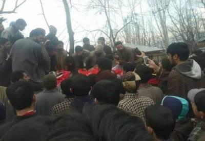 مقبوضہ کشمیر: بھارتی مظالم جاری، قابض فوج کی فائرنگ، 3 نوجوان شہید