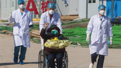 چین،کرونا وائرس کے 14ہزار3سو76مریض صحت یابی پر ہسپتال سے فارغ