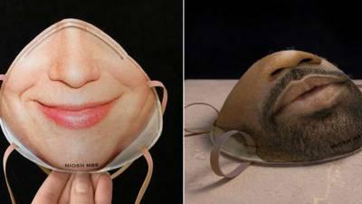 کورونا وائرس سے تحفظ اور اداسی دور بھگانے کیلئے مسکراہٹ بکھیرنے والا ماسک