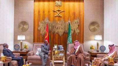 اریٹریا کے صدر کی سعودی ولی عہد سے ملاقات