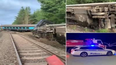 آسٹریلیا، ٹرین حادثے میں 2افراد ہلاک