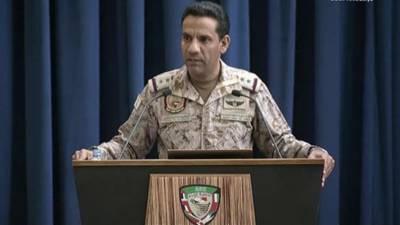 صنعاء بیلسٹک میزائل جمع کرنے اور داغے جانے کا گڑھ بن چکا ہے: عرب اتحاد