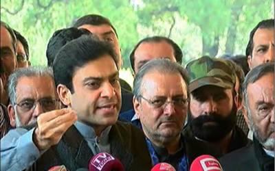 نئے پاکستان کا نعرے لگانے والوں نے پرانے پاکستان کوبھی کفن پہنا دیا: حمزہ شہباز