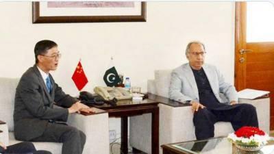 مشیرخزانہ کا ایف اے ٹی ایف کے اجلاسوں میں بھرپورحمایت پر چینی حکومت سے اظہار تشکر