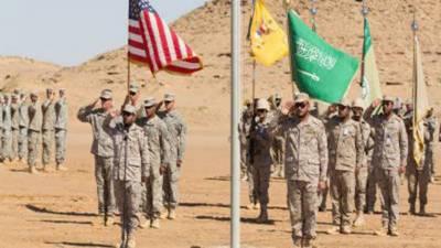 خلیج عرب میں امریکا اور سعودی عرب کی مشترکہ بحری فوجی مشقیں آئندہ ہفتے شروع ہوںگی
