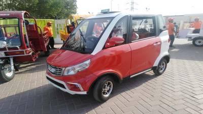 پاکستان میں پہلی مرتبہ بجلی سے چلنے والی گاڑی متعارف
