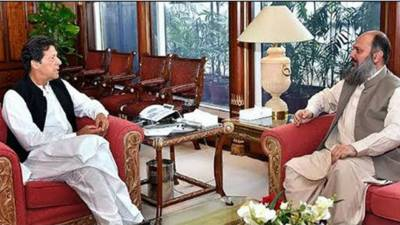 وزیراعظم عمران خان اور وزیراعلیٰ بلوچستان کا ایران میں کرونا وائرس پھیلنے کی اطلاعات پر تبادلہ خیال