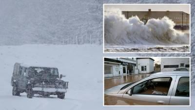 شمالی برطانیہ میں شدید بارش، برف باری اور سیلاب کی پیش گوئی