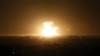 اسرائیل کی دمشق اور غزہ پر شدید بمباری