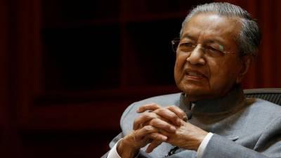 ملائیشیا کے وزیراعظم مہاتیر محمد نے عہدے سے استعفیٰ دے دیا