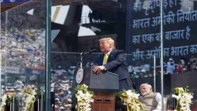 امریکی صدر بھارتیوں کے سامنے پاکستان کی تعریفیں کرتے رہے۔