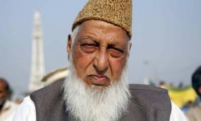 جماعت اسلامی کے مرکزی رہنما کراچی نعمت اللہ خان انتقال کرگئے