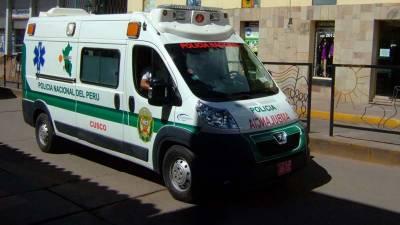 جنوبی پیرو میں بس حادثہ،11افراد ہلاک