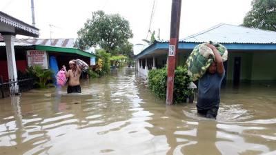 انڈونیشیا،بارش اور سیلاب سے متعدد علاقے زیر آب، بجلی کا نظام درہم برہم