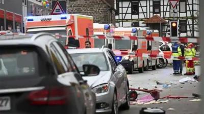جرمنی میں گاڑی مجمعے پر چڑھانے کا معاملہ، زخمیوں کی تعداد 52 ہوگئی