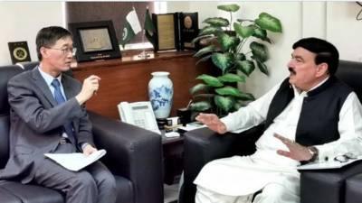 پوری پاکستانی قوم چینی عوام کے ساتھ ہے. شیخ رشید