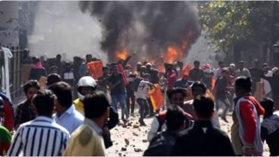 بھارت: متنازع قانون کیخلاف احتجاج کے دوران دس افراد ہلاک