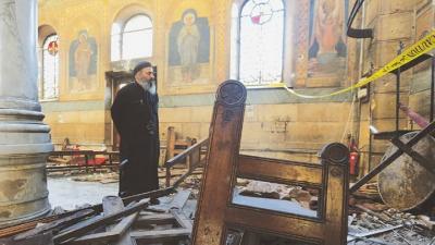 مصر: گرجا گھروں میں بم دھماکوں میں ملوث 8 افراد کو پھانسی