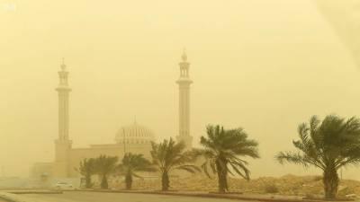 سعودی عرب میں گرد و غبار کا طوفان، 2 غیر ملکی ہلاک