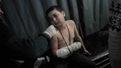 شامی فوج کی ادلب میں بمباری،آٹھ بچوں سمیت 19افرادہلاک