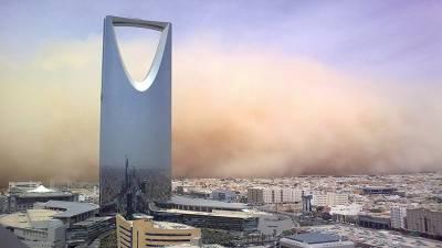 سعودی عرب:گردو غبارکا طوفان، بارش،ذرائع آمدورفت درہم برہم