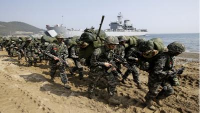 کورونا وائرس، امریکا اور جنوبی کوریا کی جنگی مشقیں ملتوی