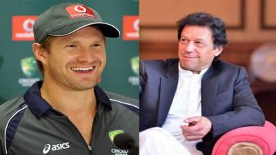 عمران خان کی زندگی متاثر کُن ہے: شین واٹسن