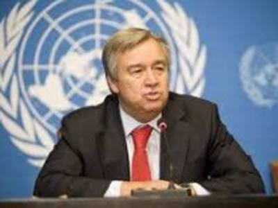 سیکرٹری جنرل اقوام متحدہ کا نئی دلی میں امن اور معمولات کی بحالی پر زور